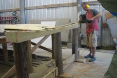 4. Fitting Table Frame to Longboard Rocker Curves