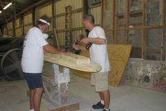 6. Custom Reinforcing For Classic Longboard